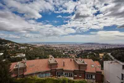 Exclusive villa with poll in Barcelona near Tibidabo Mountain